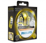 Philips ColorVision H4 желтый свет 12342CVPYS2