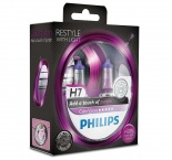 Philips ColorVision H7 фиолетовый свет 12972CVPPS2