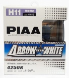 PIAA Arrow Star White H11 H-618