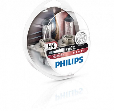 Philips VisionPlus H4 12342VPS2 - 1