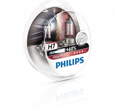 Philips VisionPlus H7 12972VPS2 - 1