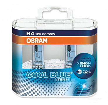 Osram Cool Blue Intense H4 64193CBI - 1